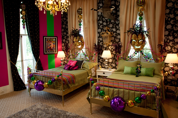 The real truth behind mtv 39 s the real world houses dufossat street house mardi gras bedroom - New orleans home decor stores property ...