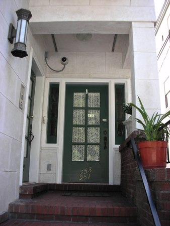 front door security cameraThe Real Truth behind MTVs The Real World  Lombard Street House